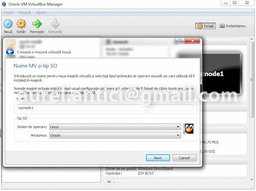 Ghid de instalare rapida Oracle 11g R2 RAC,  instalarea infrastructurii (1/6)