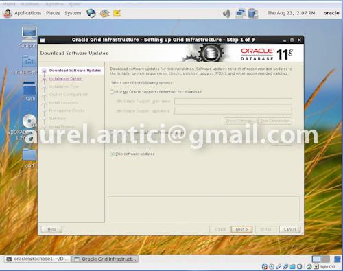 Ghid de instalare rapida Oracle 11g R2 RAC, instalarea Oracle Grid si Oracle Database (1/6)