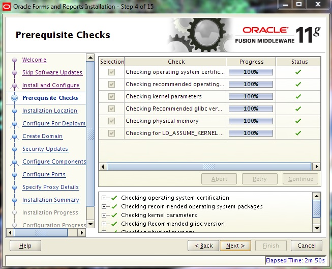 Instalarea Oracle Forms and Reports 11gR2 (II) (4/6)